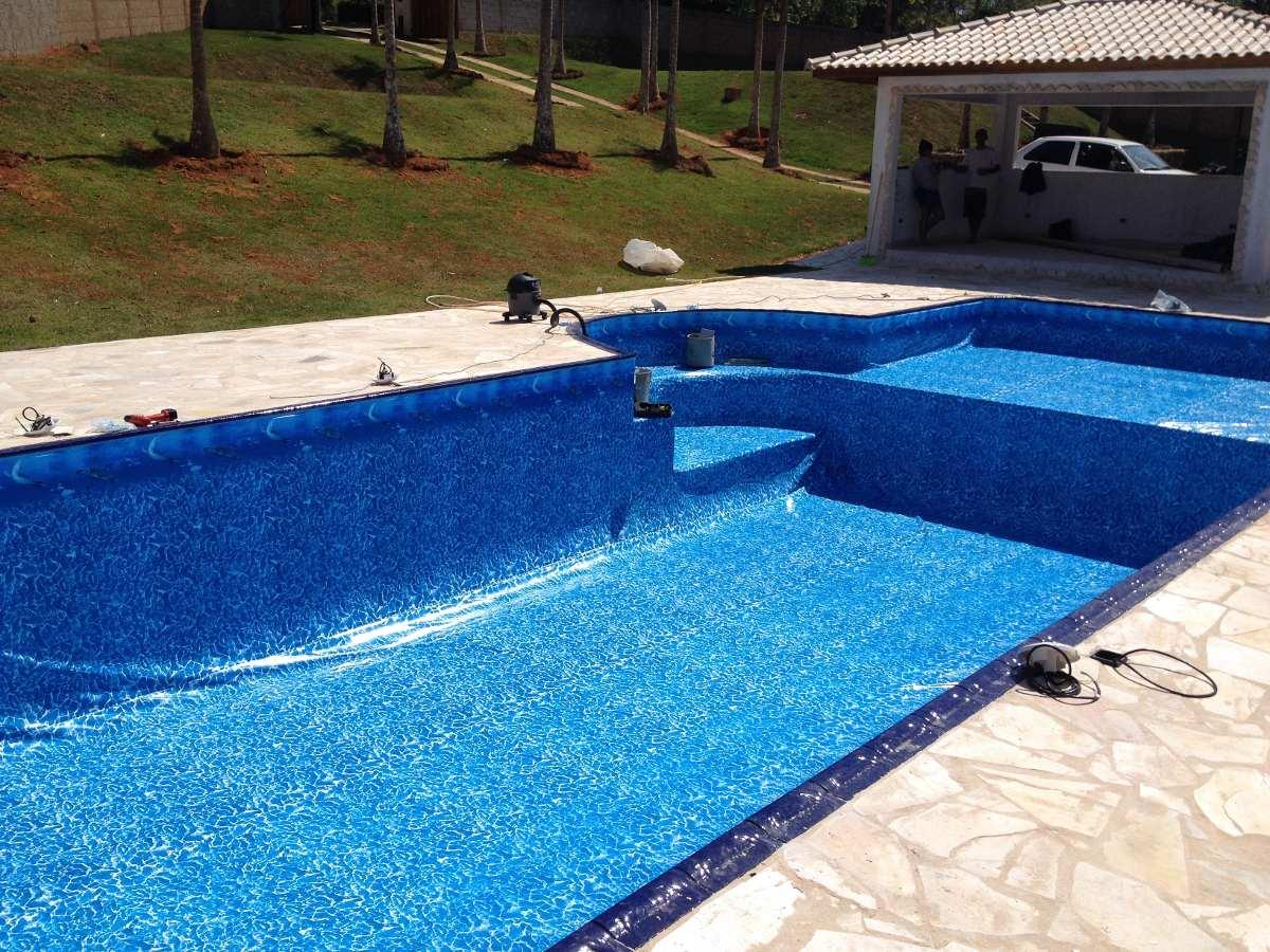 Vinil para piscinas azulejos fibra e alvenaria r 44 - Azulejos para piscina ...