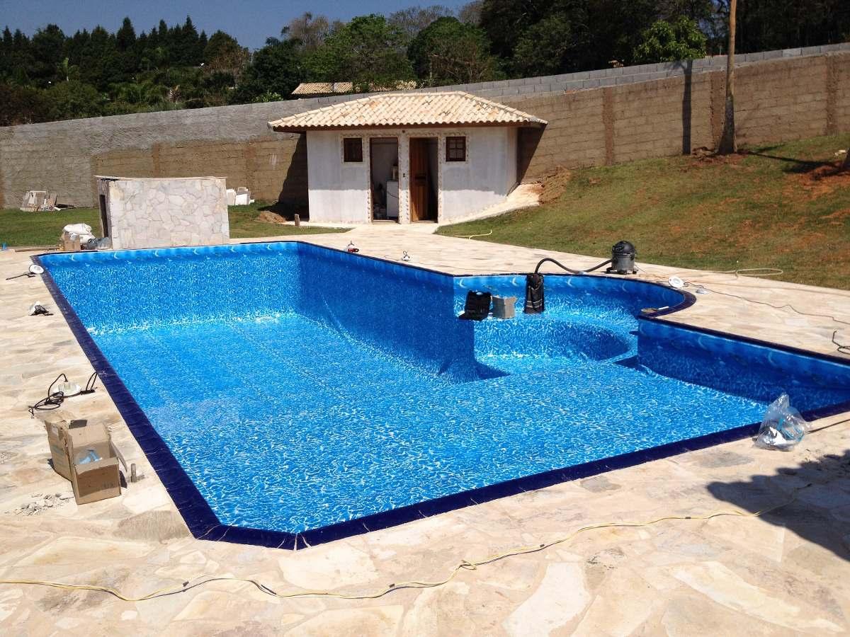 Vinil para piscinas azulejos fibra e alvenaria r 44 for Piscinas modelos