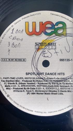 vinil spotlight dance hits