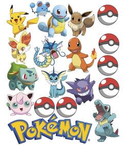 Stickers Pokemon.Vinil Stickers Adherible Pokemon