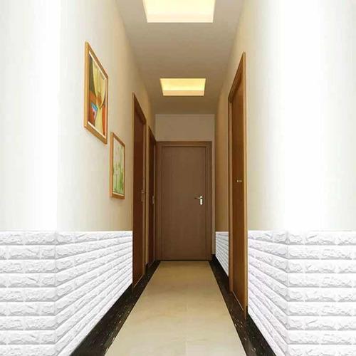 vinil tapiz 3d ladrilo espuma pe decoracion antigolpe