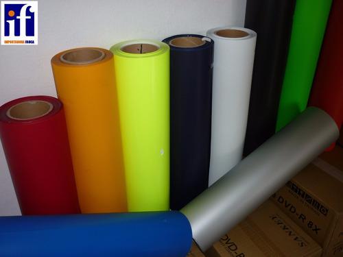 vinil termo adhesivo textil en colores  suministros fauca