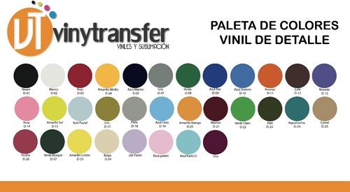 vinil textil de detalle pack 6 mt