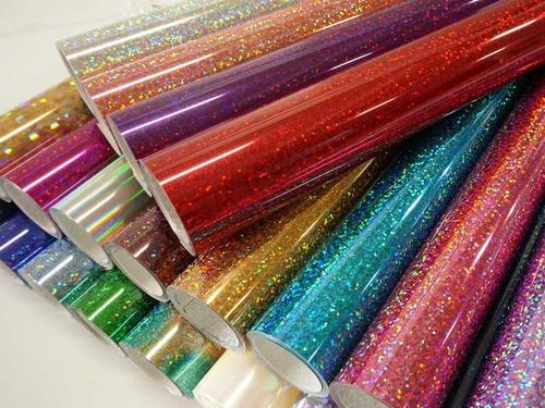 vinil textil metalizados holográfico reflectivo