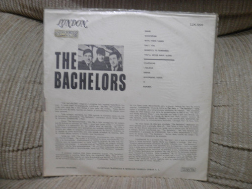 vinil the bachelors - london