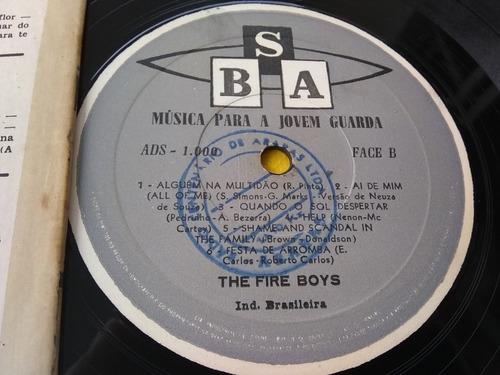 vinil the fire boys música para a jovem guarda lp compre já