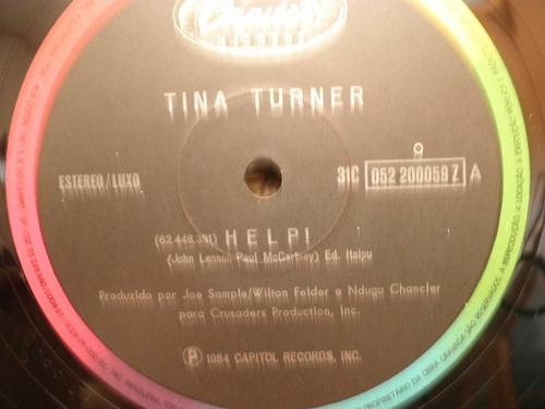 vinil tina turner help / rock n roll widow single 12