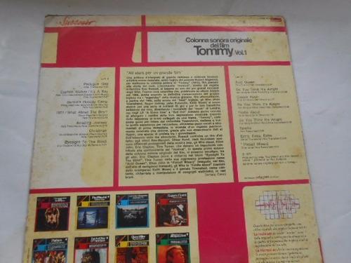vinil tommy vol. 1 the who trilha do filme lp importado raro