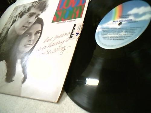 vinil trilha sonora do filme love story, 1970. excelente.