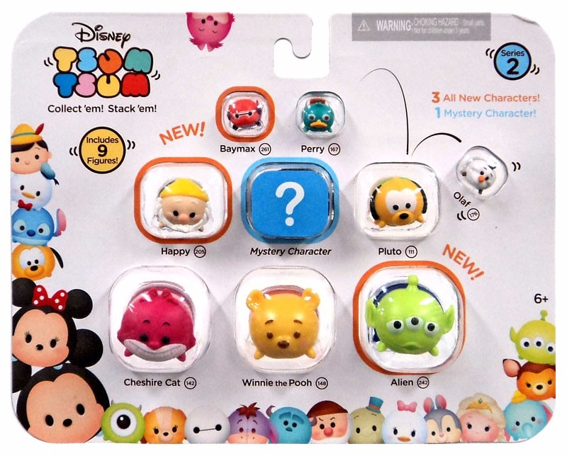 Disney Tsum Tsum Clipart 9: Vinil Tsum Tsum 9 Figuras Importado Disney Juguete Peluche