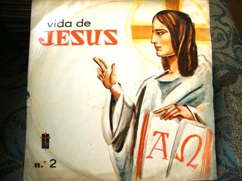vinil   vida de jesus   - número 2
