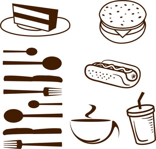 Viniles decorativos para restaurante cafeter a y o cocina for Articulos decorativos para cocina