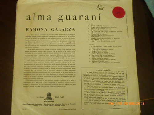 vinilio lp de ramona galarza alma guarani (43)
