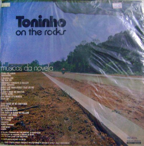 vinil/lp -  toninho on the rocks