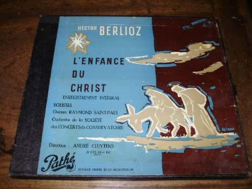 vinilo 12' berlioz l'enfance du christ box x 2 pathe francia