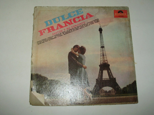 vinilo 12'' dulce francia gaston y su conjunto polydor arg