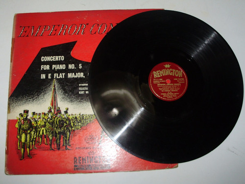 vinilo 12'' emperor concerto beethoven karrer remington usa