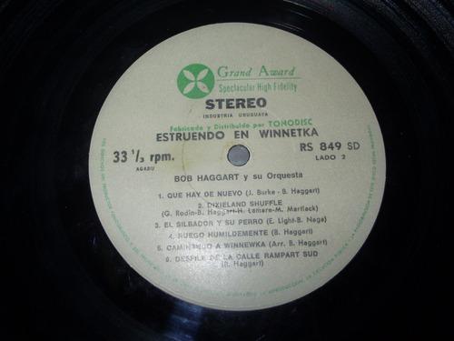 vinilo 12'' estruendo en winnetka bob haggart tonodisc uru