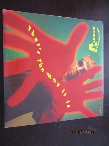 vinilo 12 inch: adventures of stevie v - that's the way it