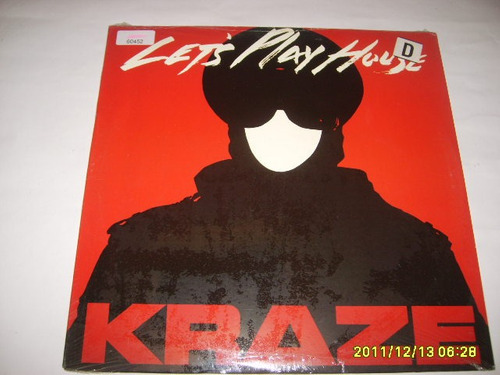 vinilo 12 inch: kraze - let's play house