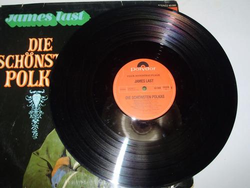 vinilo 12'' james last die schonsten polkas polydor ger 1974