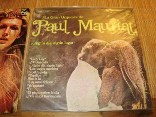 vinilo 12'' paul mauriat lote 5 lp philips mercury urug arg
