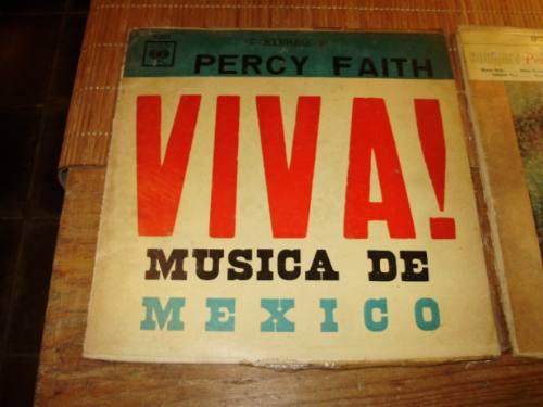 vinilo 12'' percy faith lote 2 lp cbs columbia uruguay