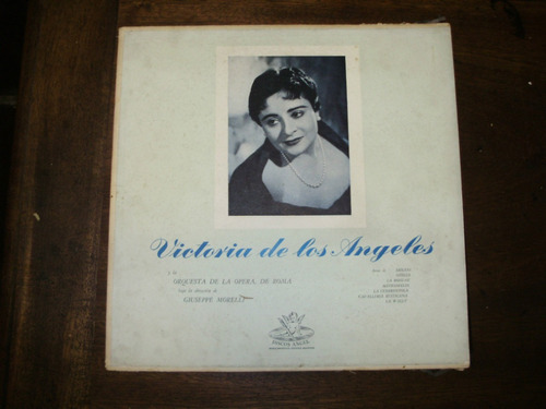 vinilo 12'' victoria de los angeles 2 lp angel records arg.