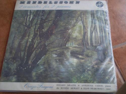 vinilo  2 concierto para piano mendelsshon (u744