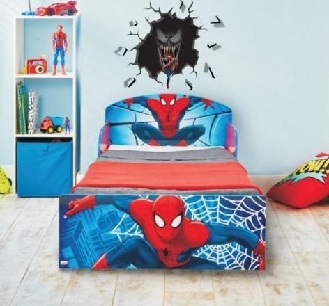 Vinilo 3d Decoración Pared Rota Murales Spiderman Grande