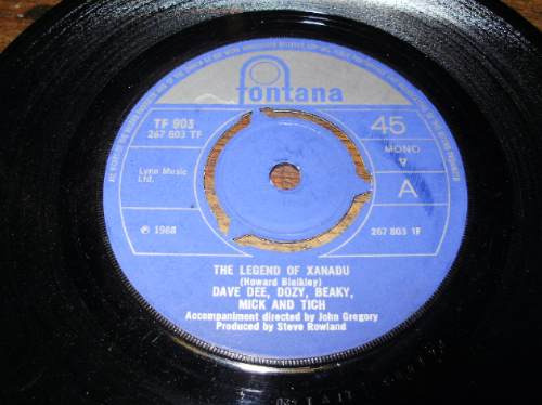 vinilo 7'' dave dee dozy beaky mick & tich fontana uk 1968