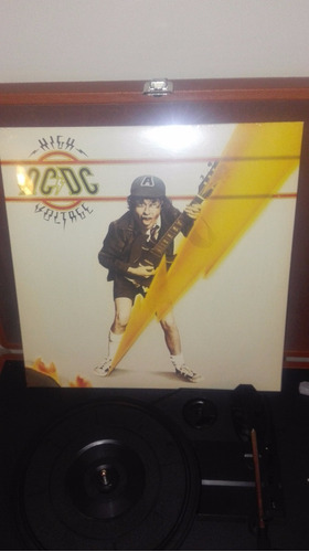 vinilo ac/dc-high voltage (importado de uk )/ 12  nuevo
