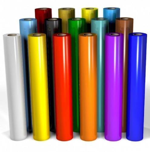 vinilo adhesivo brillante grafica x rollo de 10 mtrs x 61 cm