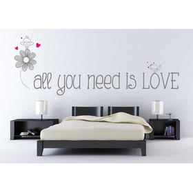 Vinilo Adhesivo Decorativo Frase Need Love