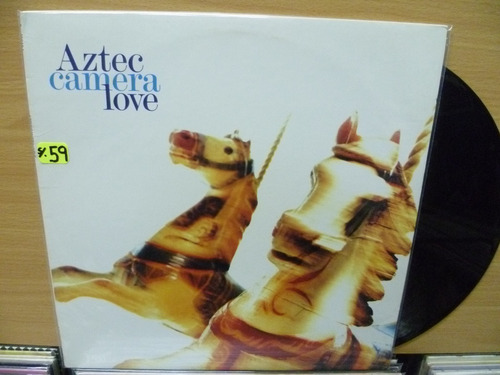 vinilo americano aztec camera love  de época ( lp top music)