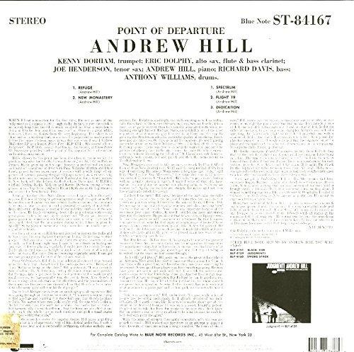 vinilo : andrew hill - point of departure (lp vinyl)