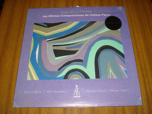 vinilo angel parra / ultimas composiciones de violeta (nuevo