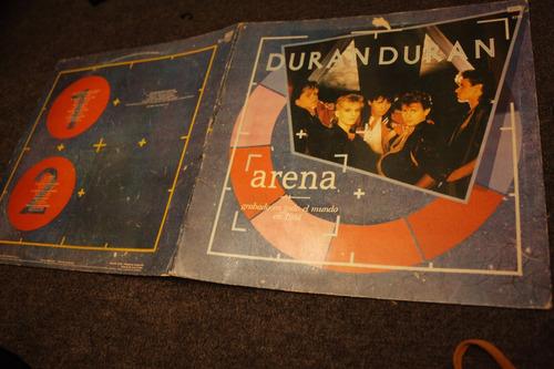 vinilo  arena  duran  duranlp  1984
