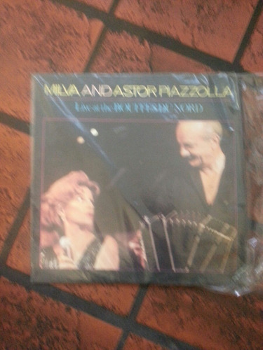 vinilo astor piazzola y milva-live at the bpuffes nord