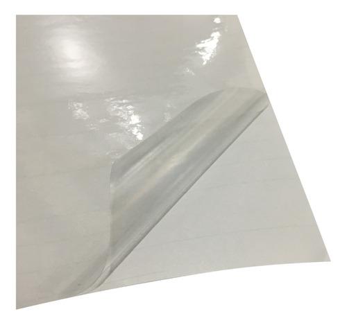vinilo autoadhesivo transparente sublimable a4 pack 10 unid