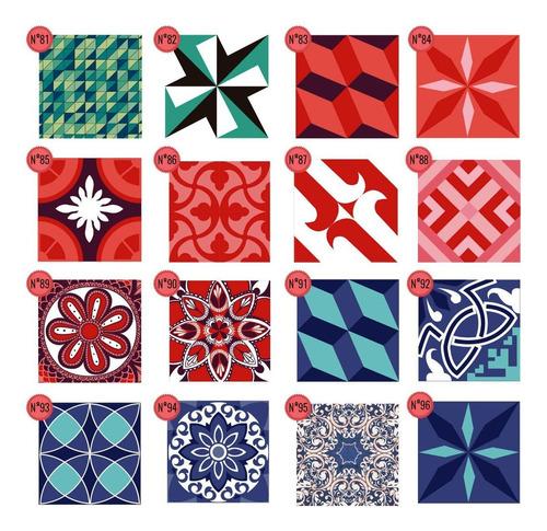 vinilo azulejo mosaico adhesivo 20x20 cocina x 40u laminado