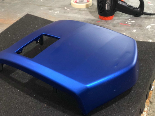 vinilo azul/rojo metalizado mate con airfree