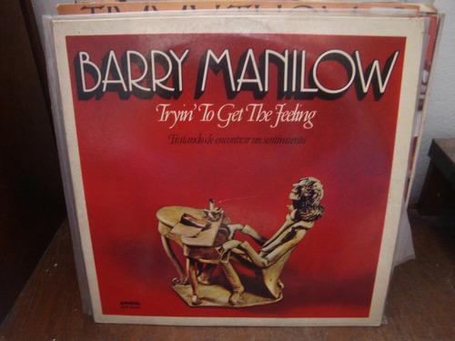 vinilo barry manilow tratando de encontrar un sentimiento