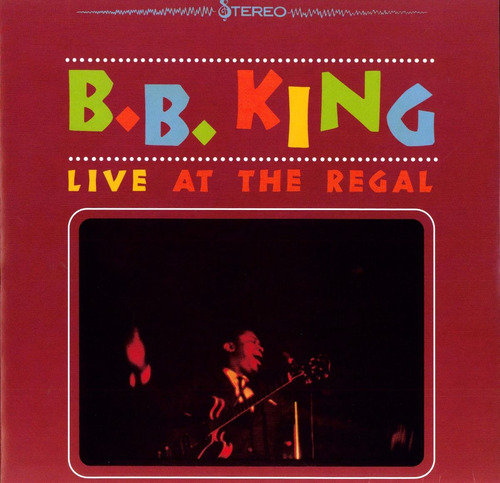 vinilo - b.b. king - live at the regal