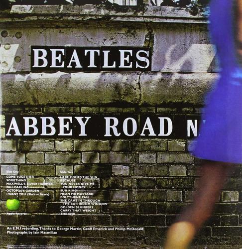 vinilo beatles abbey road nuevo remasterizado