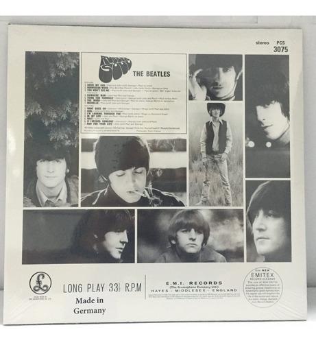 vinilo beatles the - rubber soul- lp remasterizado nuevo