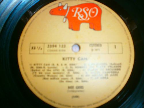 vinilo bee gees (kitty can) 1973