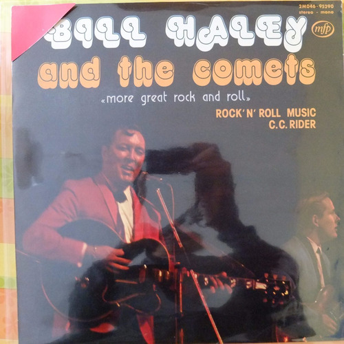 vinilo bill halley & the comets  more great rock and roll