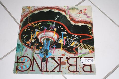 vinilo blues & jazz b.b king 1983