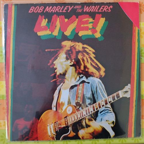 vinilo  bob marley   live